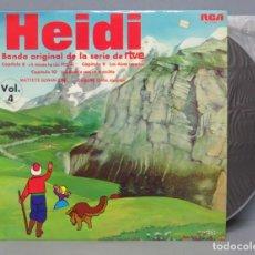 Discos de vinilo: LP. HEIDI. CANTA EN ESPAÑOL. CAPITULOS 8 Y 9. VOL. 4. Lote 151542530