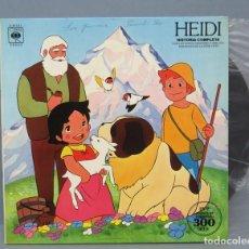 Discos de vinilo: LP. HEIDI. HISTORIA COMPLETA CANCIONES ORIGINALES DE LA SERIE DE TV. Lote 151542634