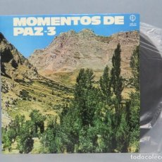 Discos de vinilo: LP. MOMENTOS DE PAZ. 3. Lote 151544678