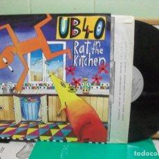 Discos de vinilo: UB 40 RAT IN THE KITCHEN LP SPAIN 1986 PDELUXE. Lote 151548842