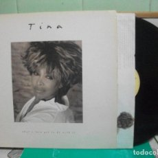 Discos de vinilo: TINA TURNER TINA - WHAT'S LOVE GOT TO DO... LP SPAIN 1993 PDELUXE. Lote 151549070