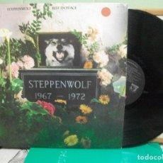 Discos de vinilo: STEPPENWOLF REST IN PEACE 1967-1972 LP USA 1972 PDELUXE. Lote 151550438