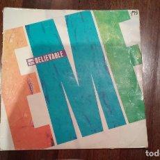 Discos de vinilo: EMF-UNBELIEVABLE.MAXI. Lote 151554066
