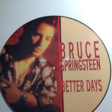 Discos de vinilo: BETTER DAYS PICTURE DISC SPRINGSTEEN. Lote 151556880