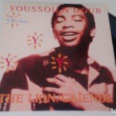 Discos de vinilo: SINGLE (VINILO) DE YOUSSOU N´DOUR AÑOS 80. Lote 151566626