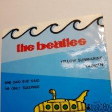 Discos de vinilo: SINGLE THE BEATLES YELOW ESCASO. Lote 151569085