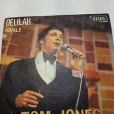 Discos de vinilo: SINGLE TOM JONES DELILAH AÑO 1967. Lote 151569300