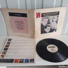 Discos de vinilo: DEPECHE MODE THE SINGLES 81 85 13 HITS VERSION INGLESA. Lote 151575329