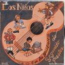 Discos de vinilo: SEGUNDO PASTOR (LOS NIÑOS EN LA GUITARRA DE SEGUNDO PASTOR) LA LOTERIA / CANCION DE CUNA + 2 (EP 60). Lote 151575910