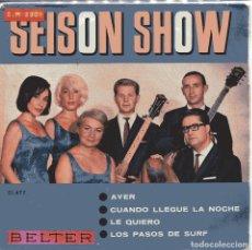 Discos de vinilo: SEISON SHIOW / AYER + 3 (EP 1965). Lote 151576118