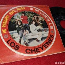 Discos de vinilo: LOS CHEYENES TU NO LLEGASTE A MI/HE PERDIDO ESTE JUEGO 7 SINGLE 1966 RCA VICTOR. Lote 151577738