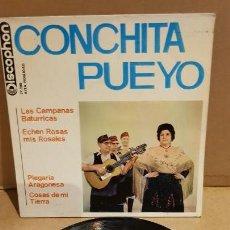 Discos de vinilo: CONCHITA PUEYO / LAS CAMPANAS BATURRICAS / EP-DISCOPHON - 1964 / MBC. ***/***. Lote 151584458
