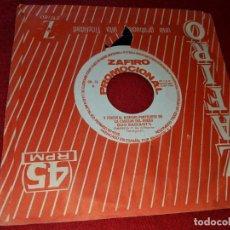 Discos de vinilo: DUO RADIANT'S PIMIENTA/BALADI...BALADI 7 SINGLE 1964 ZAFIRO FESTIVAL CANCION DEL DUERO PROMO. Lote 151585050