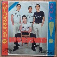 Discos de vinilo: LOS BRINCOS. VINILO SINGLE 45 RPM. BORRACHO + SOLA. NOVOLA AÑO 1965. Lote 151587450