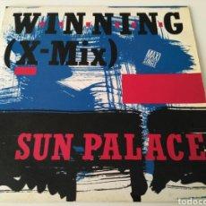 Discos de vinilo: SUN PALACE - WINNING (X-MIX). Lote 151589762