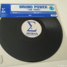 Discos de vinilo: BRUNO POWER - THE TRUST. Lote 151593262