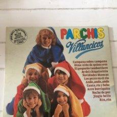 Discos de vinilo: LP PARCHÍS VILLANCICOS. Lote 151593758