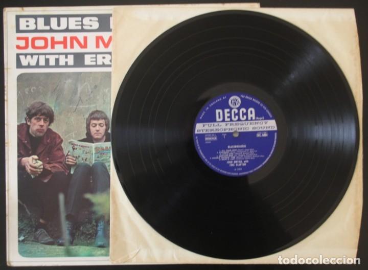 Discos de vinilo: JOHN MAYALL BLUES BREAKERS CON ERIC CLAPTON - Foto 3 - 151599686