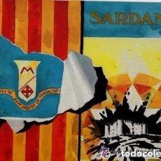 Discos de vinilo: COBLA MONTGRINS: 101 ANYS, SARDANES,LP 1985 (CREU DE ST. JORDI DE LA GENERALITAT DE CATALUNYA). Lote 151611302