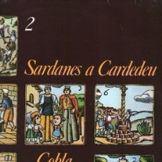 Discos de vinilo: COBLA MONTGRINS, SARDANES A CARDEDEU, LP INTERDISC 1978. Lote 151612402