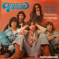 Discos de vinilo: TEQUILA - NECESITO UN TRAGO - MAXI-SINGLE SPAIN NOVOLA 1978. Lote 151617350