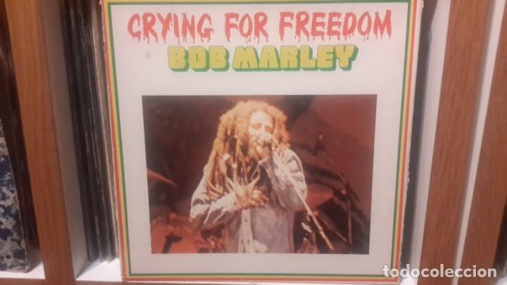 BOB MARLEY - CRYING FOR FREEDOM -CAJA DE 3 LP'S HOLLAND (Música - Discos - LP Vinilo - Reggae - Ska)