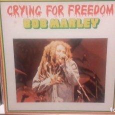 Discos de vinilo: BOB MARLEY - CRYING FOR FREEDOM -CAJA DE 3 LP'S HOLLAND. Lote 151617614
