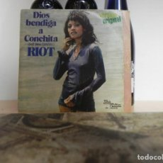 Discos de vinilo: RIOT / DIOS BENDIGA A CONCHITA / SONG OF LONG AGO(VER FOTO VER ESTADO FUNDA O CARATULA) . Lote 151618306
