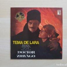 Discos de vinilo: DOCTOR ZHIVAGO - TEMA DE LARA - BANDA ORIGINAL DE LA PELICULA - SINGLE VINILO - MGM - 1966. Lote 151621430