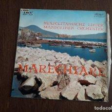 Discos de vinilo: DISCO VINILO LP NEAPOLITANISCHE LIEDER, MARECHARE. JOKER SM 3033 ITALIA AÑO 1970. Lote 151623462