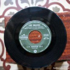 Discos de vinilo: LOS BRAVOS-SINGLE LA MOTO. SIN COVER.. Lote 151626786