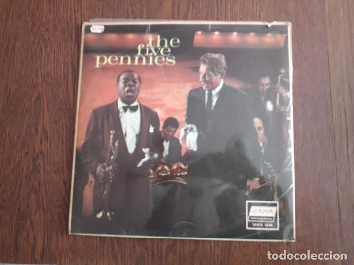 Discos de vinilo: disco vinilo LP Danny Kaye, The five pennies. London SAH-U 6044 año 1960 - Foto 2 - 151631882