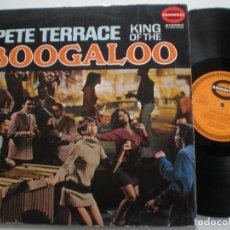 Discos de vinilo: PETE TERRACE - KING OF BOOGALOO - LP ORIG. ALEMANIA SOMERSET 1967// LATIN SOUL MOD NORTHERN POPCORN. Lote 151635066