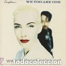 Discos de vinilo: EURYTHMICS, WE TOO ARE ONE, LP SPAIN 1989. Lote 151640502
