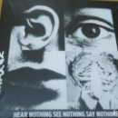 Discos de vinilo: DISCHARGE HEAR NOTHING SEE NOTHING SAY NOTHING LP GATEFOLD. Lote 151643662