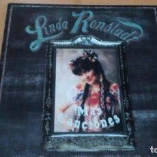 Discos de vinilo: LINDA RONSTADT MAS CANCIONES LP SPAIN INSERTO. Lote 151643926
