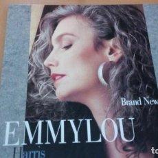 Discos de vinilo: EMMYLOU HARRIS BRAND NEW DANCE LP INSERTO. Lote 151644162