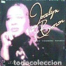 Discos de vinilo: JOCELYN BROWN FEAT. VOODOO POSSEE / MAXI-SINGLE 12 PULGADAS. Lote 151652642