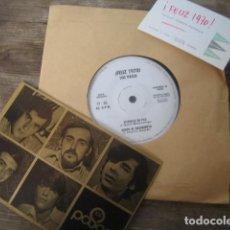Discos de vinilo: LOS PASOS - FELIZ 1970 ***** RARO SINGLE PROMOCIONAL + POSTAL, IMPECABLE!. Lote 151653418