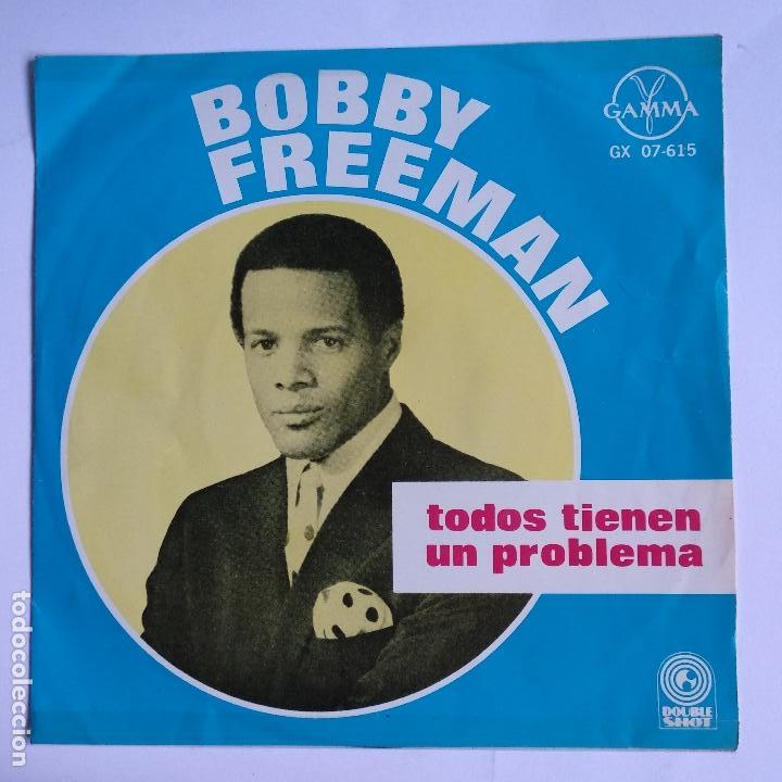 BOBBY FREEMAN - EP MEXICO PS - EVERYBODY'S GOT A HANG UP / OUGHTA BE A LAW / MAKE IT GO AWAY / SUSIE (Música - Discos de Vinilo - EPs - Funk, Soul y Black Music)
