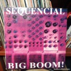 Discos de vinilo: SECUENCIAL - BIG BOOM. Lote 151670854