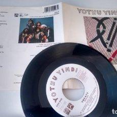 Discos de vinilo: SINGLE (VINILO) DE YOTHU YINDI AÑOS 90. Lote 151675386