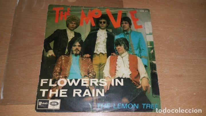 Discos de vinilo: 2 Single THE MOVE Blackberry Way / Flowers in the rain - año 1967 68 Spain - Foto 3 - 78533657