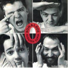 Discos de vinilo: LOS RONALDOS - ALGUIE ESPIA (SINGLE PROMO ESPAÑOL, EMI 1992). Lote 151684782