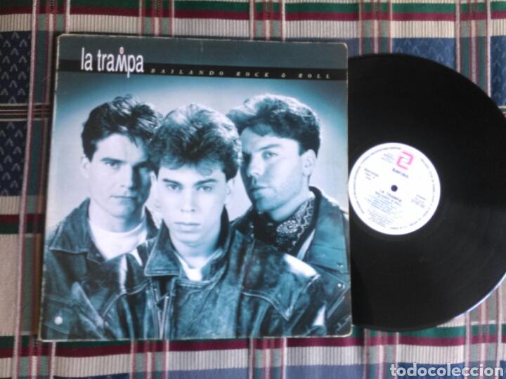 LA TRAMPA LP BAILANDO ROCK N ROLL 1992 GATEFOLD (Música - Discos - LP Vinilo - Grupos Españoles de los 90 a la actualidad)