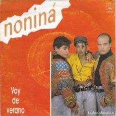 Discos de vinilo: NONINA(NO-NI-NA) VOY DE VERANO DEL 90. Lote 151688774