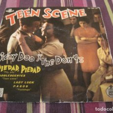 Discos de vinilo: EP DICKY DOO & THE DON´TS TEEN SCENE HISPAVOX 067 22 SPAIN. Lote 151702762