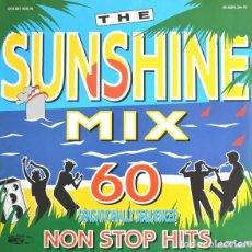 Discos de vinilo: THE SUNSHINE MIX (60 SENSATIONALLY SEQUENCED NON STOP HITS) - LP (Nº1) UK 1989. Lote 151713994