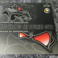 Discos de vinilo: NEOPHYTE VS. THE STUNNED GUYS - NATION OF DOMINATION. Lote 151715204