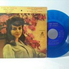 Discos de vinilo: VINILO EP SINGLE AZUL. Lote 151717454